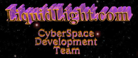 LiquidLight, CyberSpace Development Team Banner